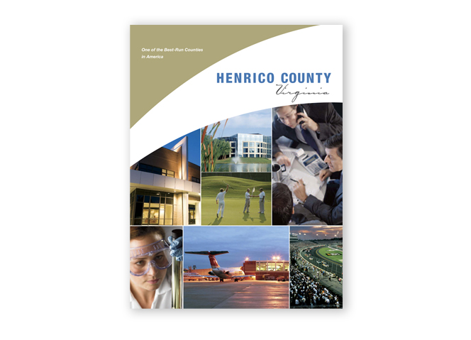 Henrico EDA pocket folder cover