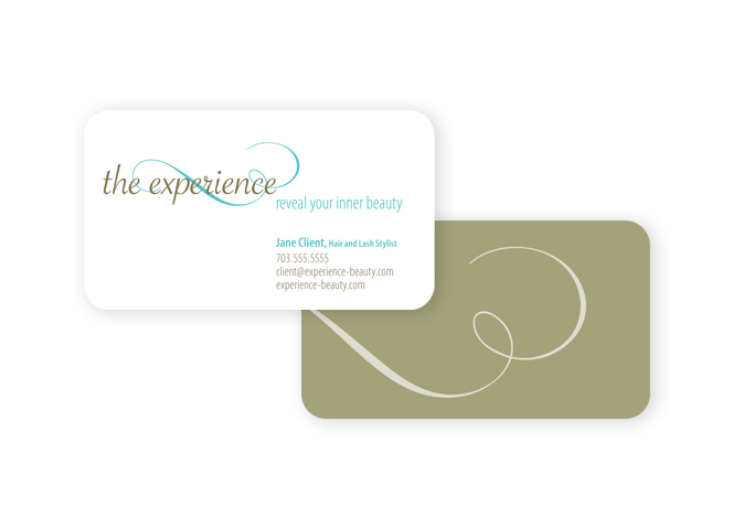 The Experience business card
