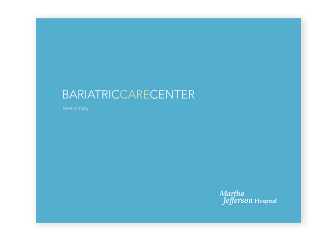 Martha Jefferson Hospital Bariatrics identity concepts cover